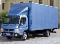 Фургон изотермический на Шасси Mitsubishi Fuso CANTER FE85D