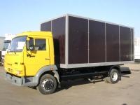 Промтоварный фургон на Шасси КАМАЗ 4308