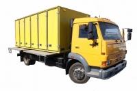 Хлебный фургон на шасси 4308