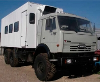 Вахтовый Автобус на Шасси КАМАЗ 43114